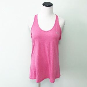 UNDER ARMOUR Pink Racerback Tank Top Athletic
